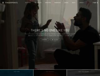 fingerprints.com screenshot