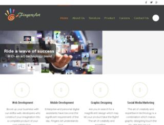 fingersart.com screenshot
