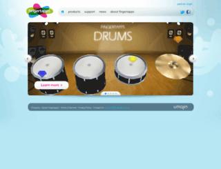fingertapps.com screenshot