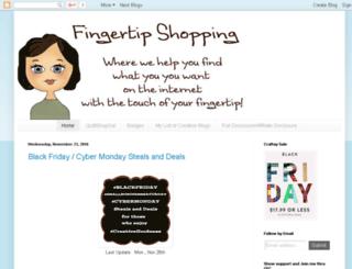 fingertipshopping.blogspot.com screenshot