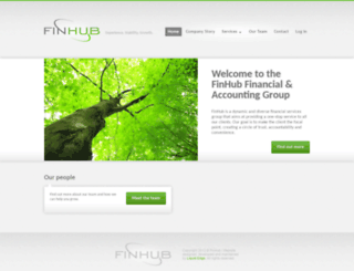 finhub.co.za screenshot