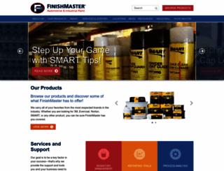 finishmaster.com screenshot