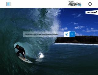 finisteretourisme.com screenshot