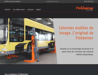 finkbeiner-france.fr screenshot