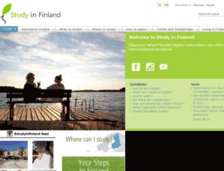 finland.cimo.fi screenshot