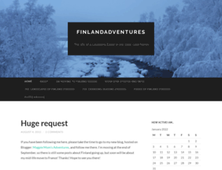 finlandadventures.wordpress.com screenshot