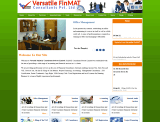 finmatconsultants.com screenshot