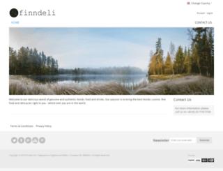 finndeli.co.uk screenshot