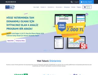 finnet.gen.tr screenshot
