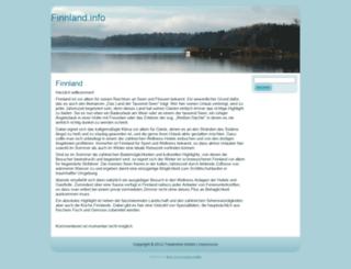 finnland.info screenshot