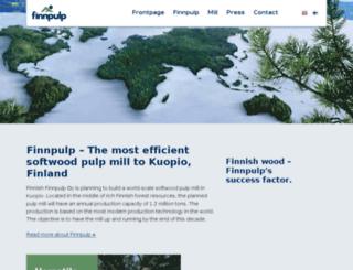 finnpulp.com screenshot