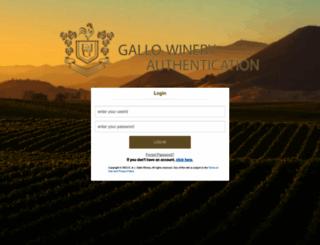 finprdext.ejgallo.com screenshot