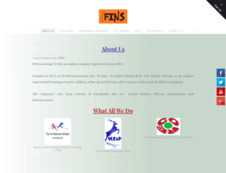 fins.co.in screenshot