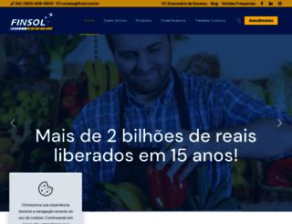 finsol.com.br screenshot