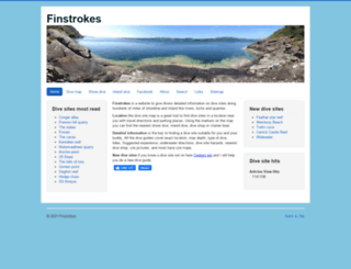 finstrokes.com screenshot