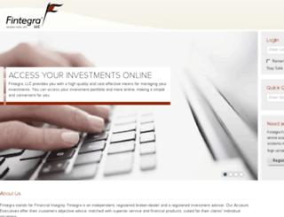 fintegra.netxinvestor.com screenshot