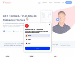 fintonic.com screenshot