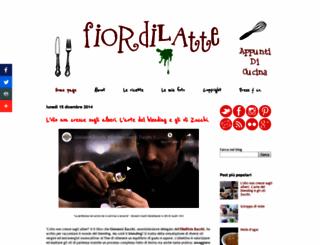 fiordilatte-appuntidicucina.blogspot.com screenshot