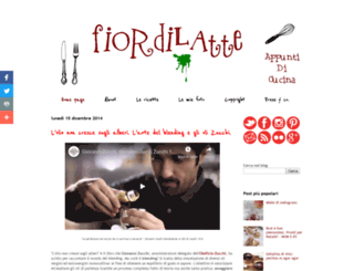 fiordilatte-appuntidicucina.blogspot.it screenshot