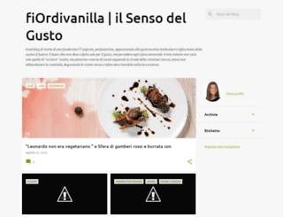 fiordivanilla.blogspot.it screenshot