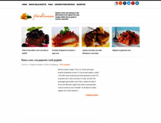 fiordizucca.blogspot.com screenshot