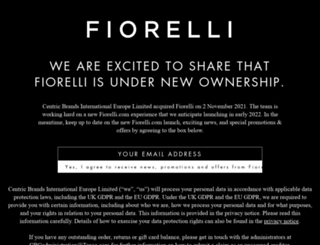 fiorelli.com screenshot