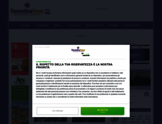 fiorentinanews.com screenshot
