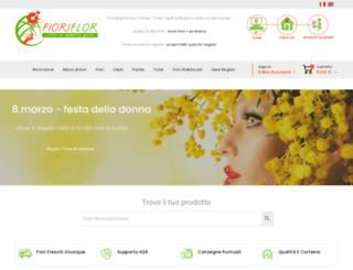 fioriflor.com screenshot