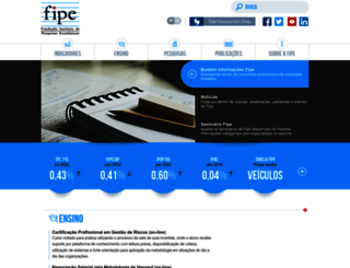 fipe.org.br screenshot