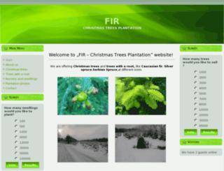 fir-plantation.com screenshot