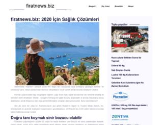 firatnews.biz screenshot