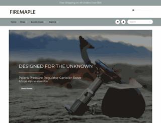 fire-maple.com screenshot
