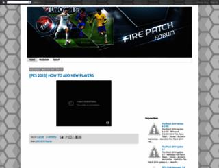fire-patch.blogspot.com screenshot
