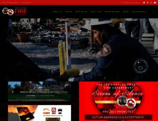 fire.lacounty.gov screenshot