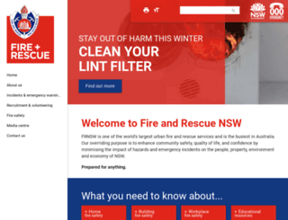 fire.nsw.gov.au screenshot