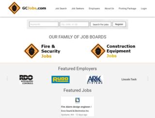 fireandsecurityjobs.net screenshot