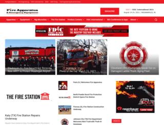 fireapparatusmagazine.com screenshot