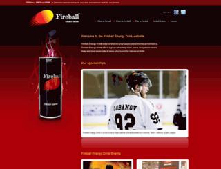 fireballenergydrink.com screenshot