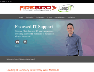 firebirdit.co.uk screenshot