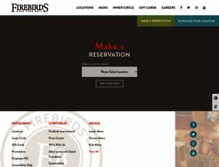 firebirdsrestaurants.com screenshot