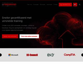 firebrandtraining.nl screenshot