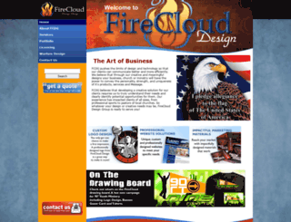 fireclouddesign.com screenshot
