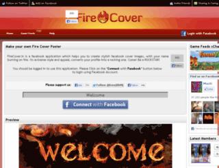 firecover.in screenshot