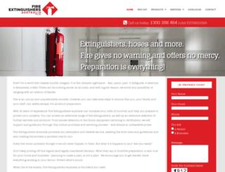 fireextinguishers.com.au screenshot