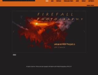 firefallphotography.com screenshot