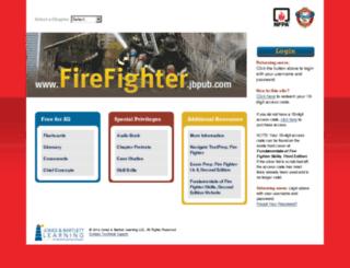 firefighter.jbpub.com screenshot
