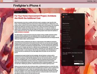 firefightersiphone4.blogspot.com screenshot