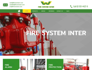 firefightingsystems.net screenshot