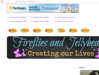 firefliesandjellybeans.blogspot.com screenshot