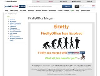 fireflyoffice.com screenshot
